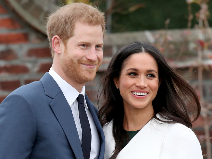 Meghan and Harry happy together