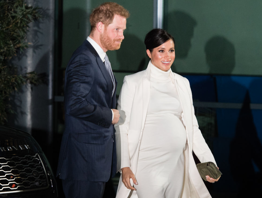 Meghan and Harry together