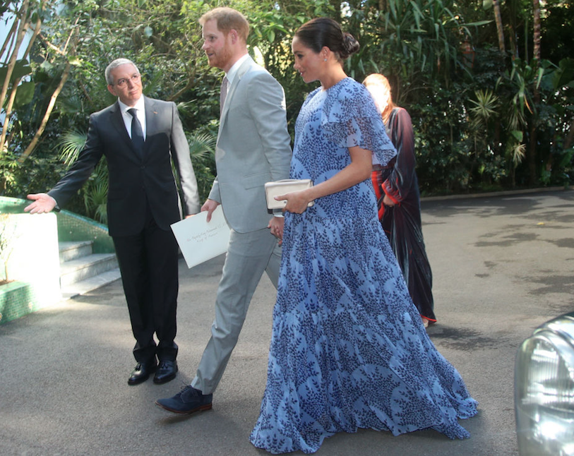Meghan and Harry in Morocco