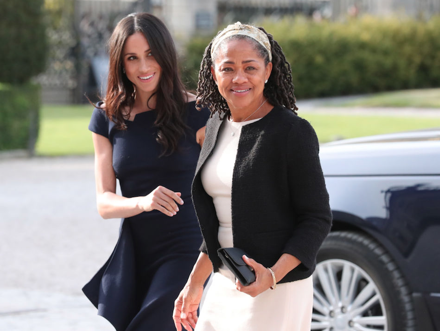 Meghan and her mother