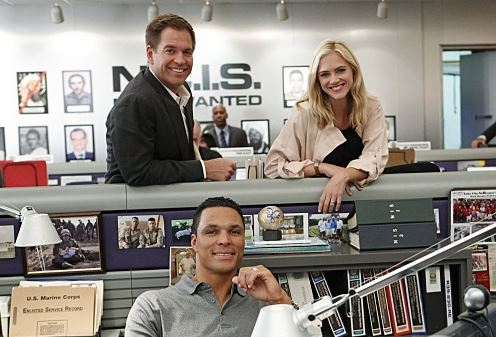 The most wanted board on the TV show NCIS