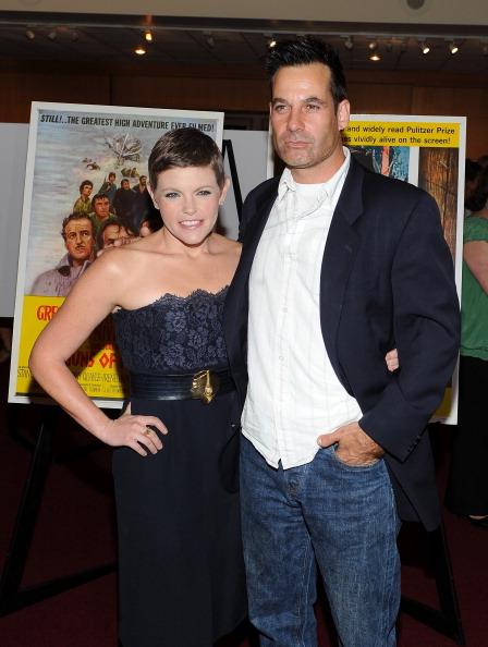 Singer Natalie Maines and Adrian Pasdar