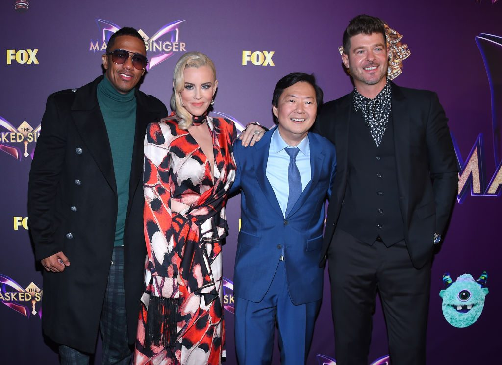 Nick Cannon, Jenny McCarthy, Ken Jeong and Robin Thicke