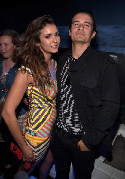 Orlando Bloom and Nina Dobrev
