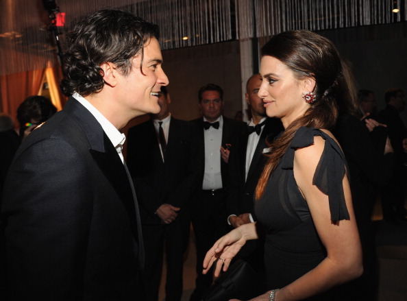 Orlando Bloom and Penelope Crùz