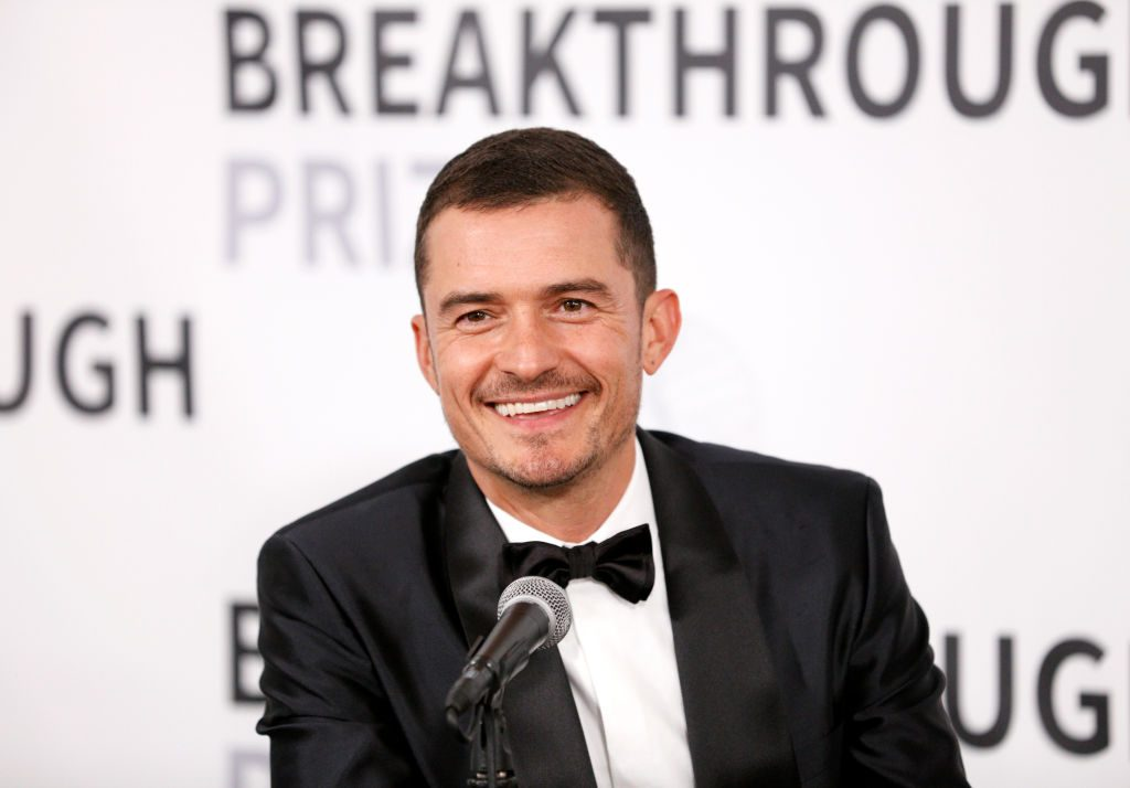 Orlando Bloom attends the 2019 Breakthrough Prize at NASA Ames Research Center   Kimberly White/Getty Images for Breakthrough Prize