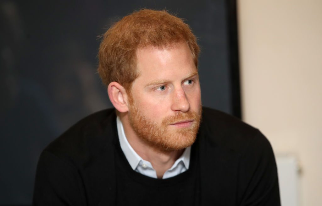 Prince Harry, Duke of Sussex visits a 'Fit and Fed'