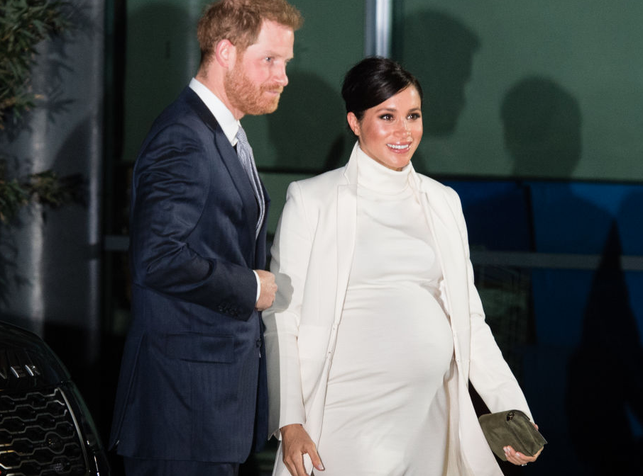 Prince Harry and Meghan Markle walking together