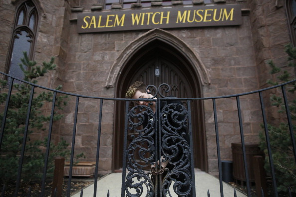 An exterior view of the Salem Witch Museum
