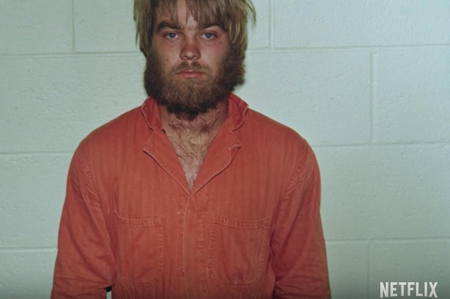 A scene from Making a Murderer's Netflix trailer