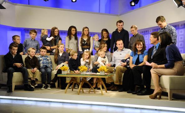 "The Duggar Family and Ann Curry appear on NBC News' ""Today"" show"
