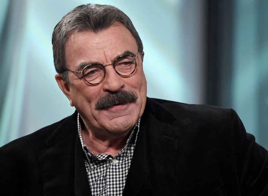 Tom Selleck from 'Blue Bloods' talking.