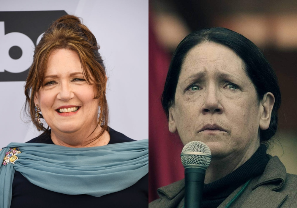 Ann Dowd as Aunt Lydia in The Handmaid's Tale