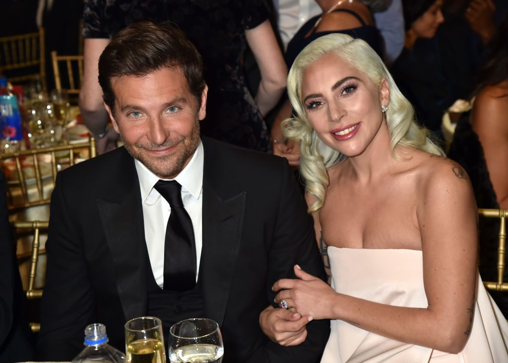 Bradley Cooper and Lady Gaga at Critics' Choice Awards.