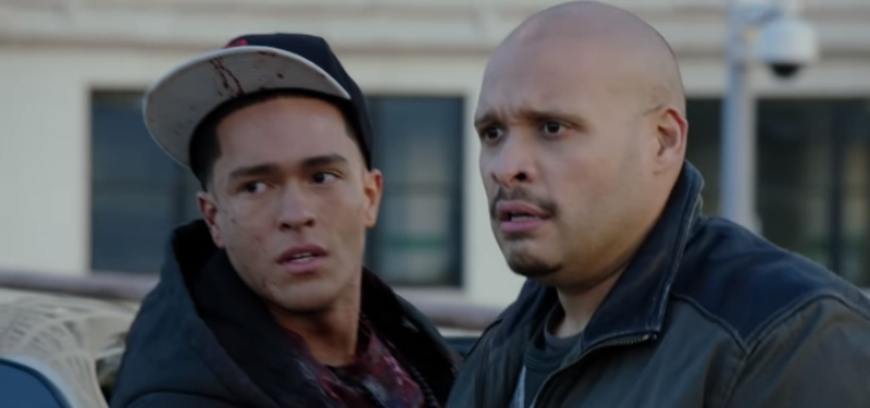 Jeff Lima as Leon Cruz and Joe Minoso as Joe Cruz on Chicago Fire