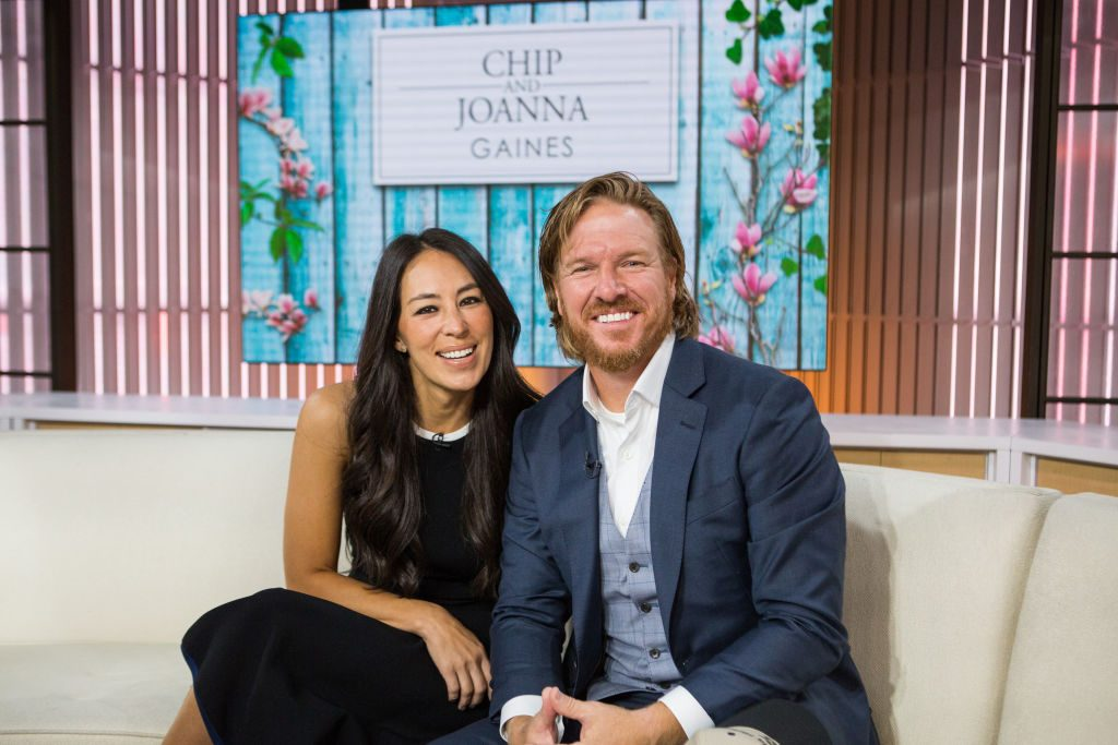 Chip and Joanna Gaines give gift to a fan.