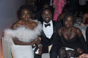 'Black Panther' Star Danai Gurira Gets to Hang Out With 'This Is Us' Power Couple Randall and Beth Pearson in Real Life