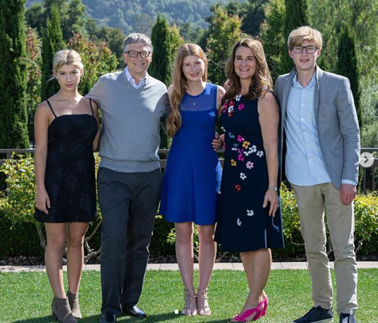 The Gates Family | Melinda French Gates via Instagram