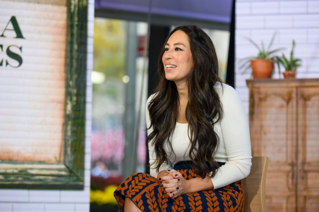 Joanna Gaines during an interview with the Today show.