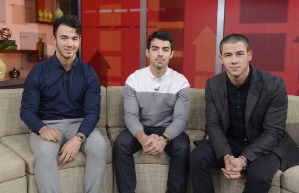 Jonas Brothers on Good Morning America in 2013