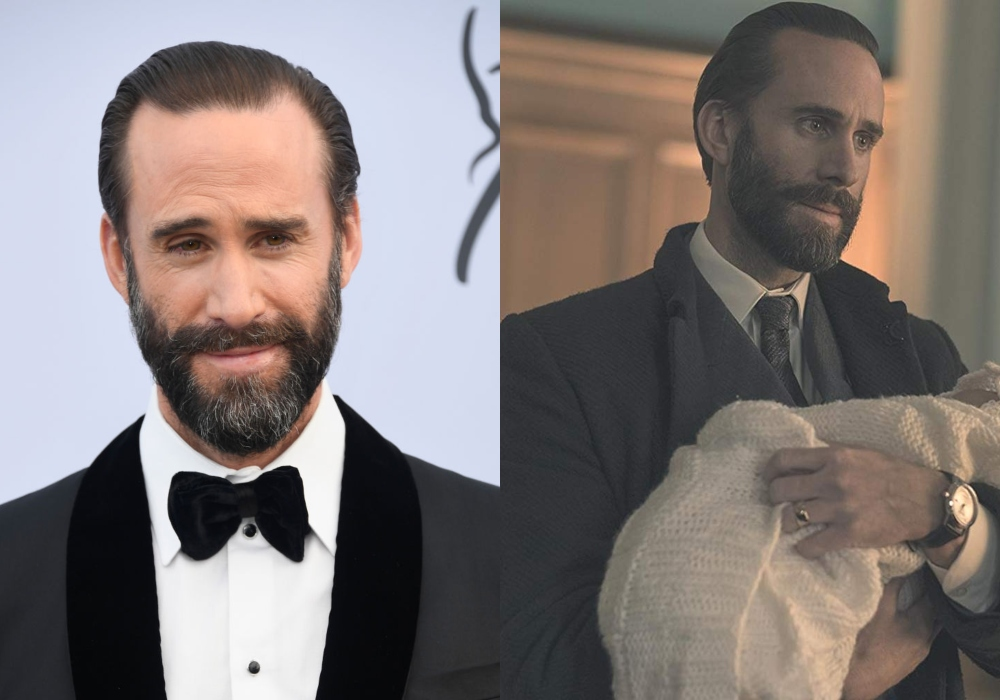 Joseph Fiennes as Commander Waterford on The Handmaid's Tale