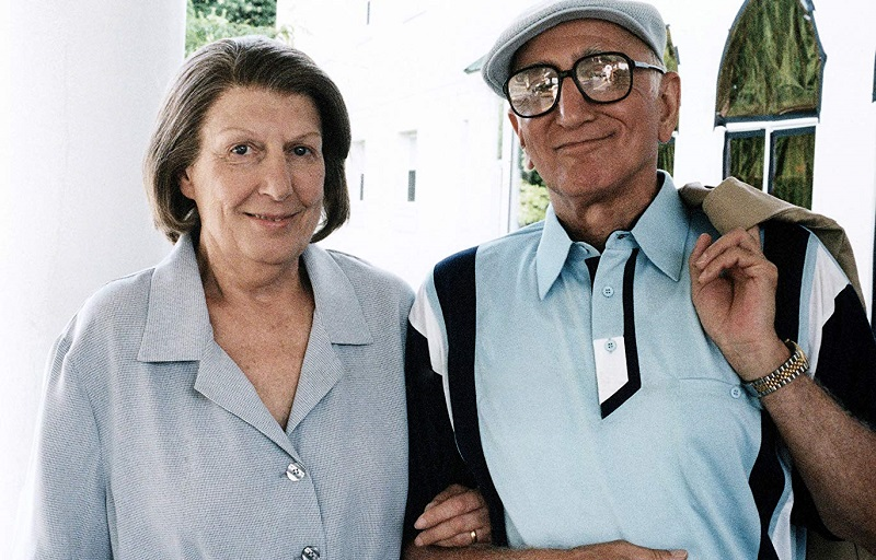 Nancy Marchand and Dominic Chianese