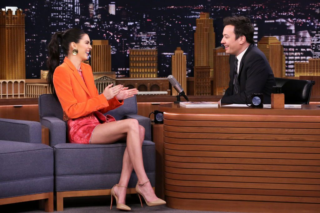 Kendall Jenner talks about eating a Twix for the first time on The Tonight Show Starring Jimmy Fallon.