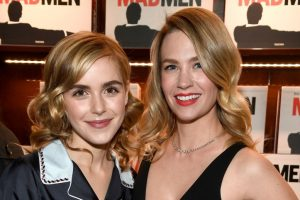 Kiernan Shipka & January Jones Had A Mini 'Mad Men' Reunion