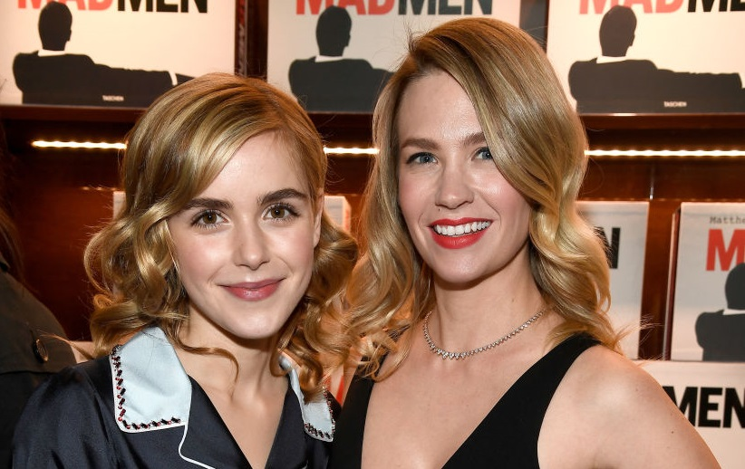 Kiernan Shipka January Jones