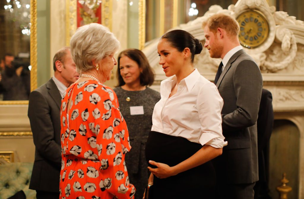 Prince Harry and Meghan Markle attend Endeavor Fund Awards.