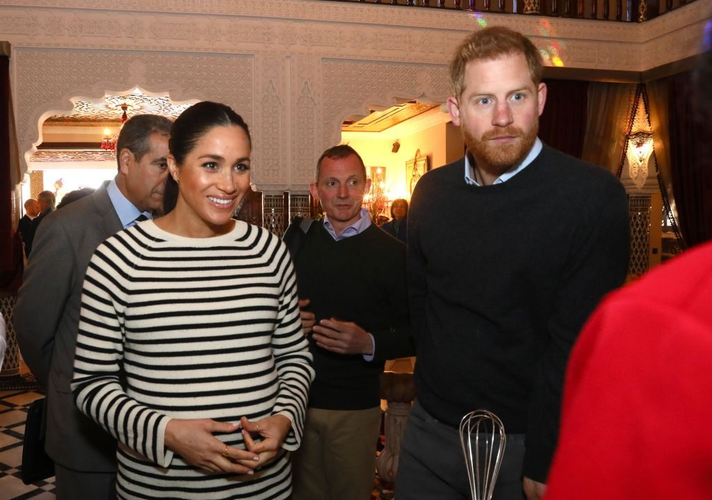 Meghan Markle and Prince Harry in Morocco