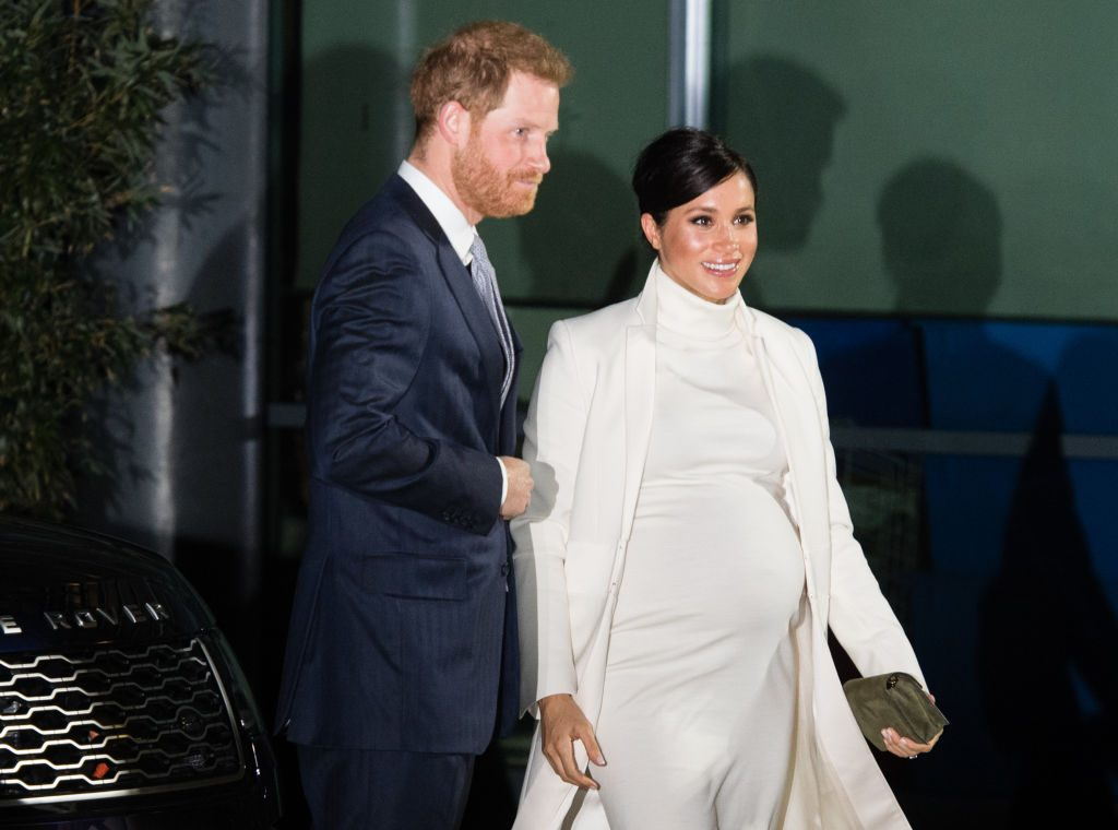 Prince Harry and Meghan Markle at Natural History Museum.