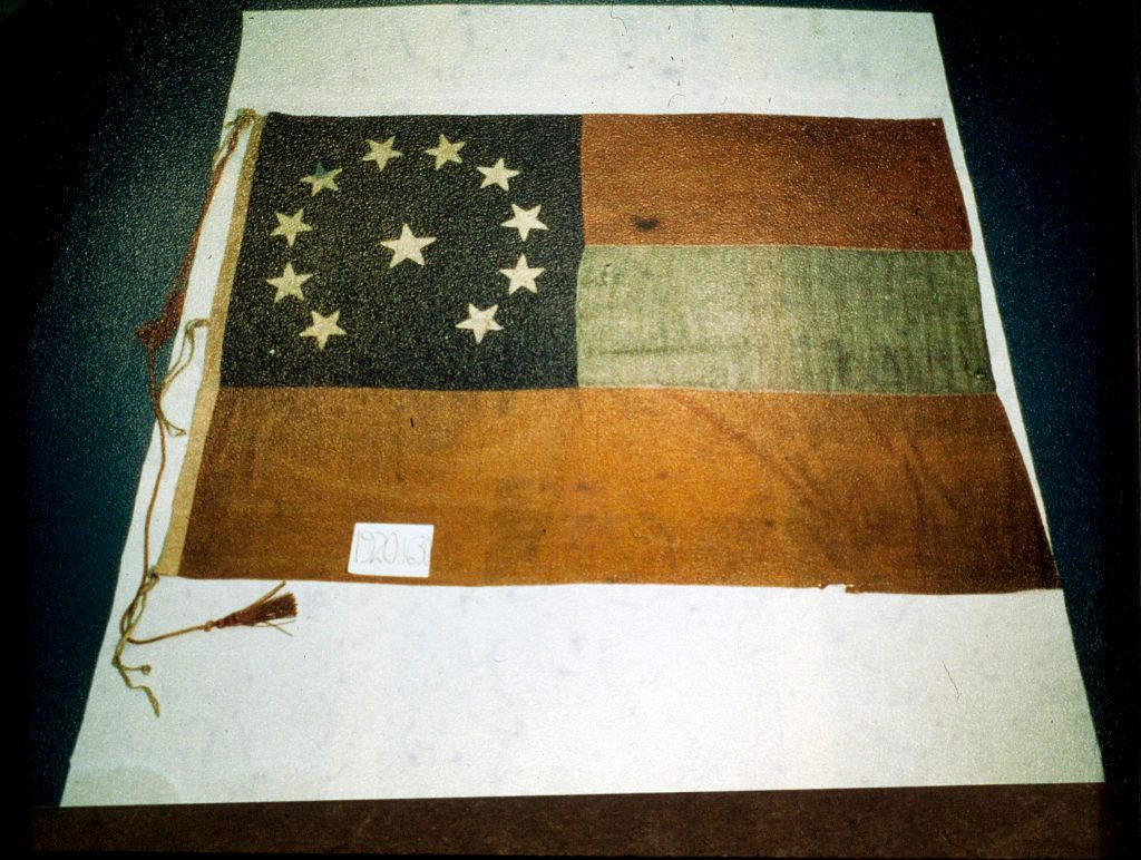 First official flag of the Confederacy
