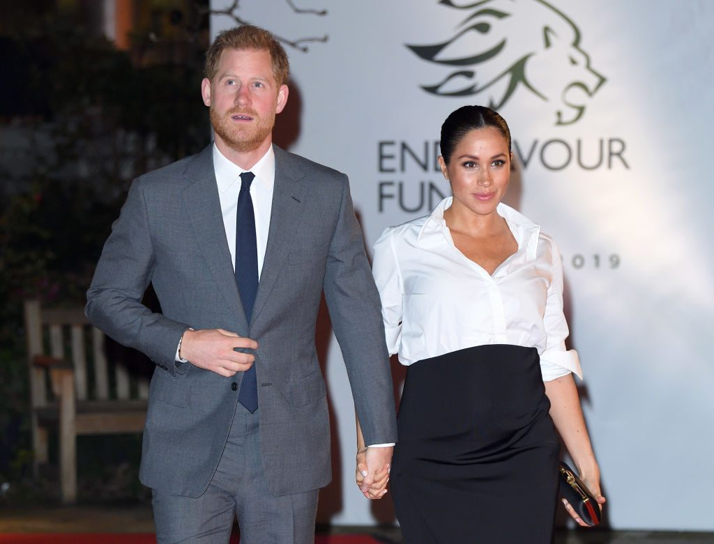 Prince Harry and Meghan Markle attend Endeavour Fund Awards.