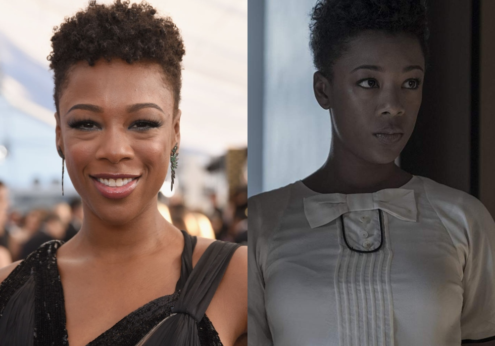 Samira Wiley as Moira on The Handmaid's Tale