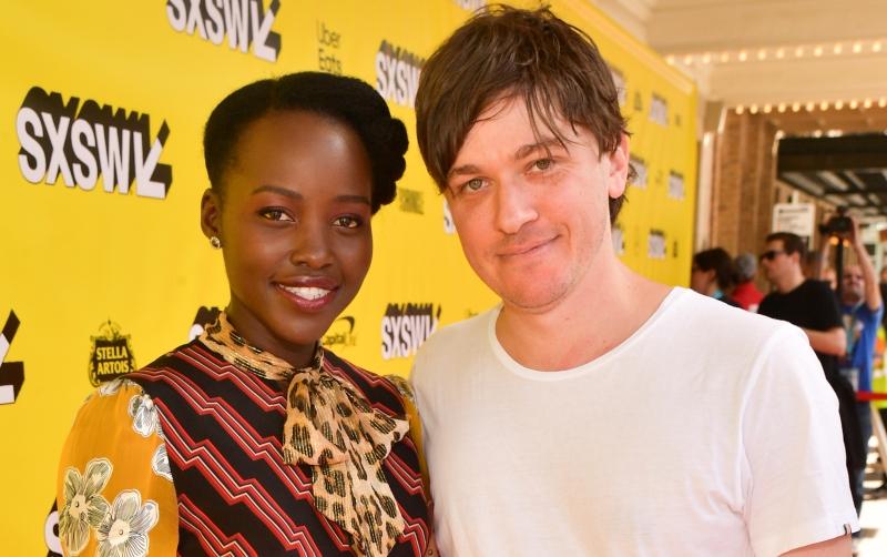 Abe Forsythe and Lupita Nyong'o