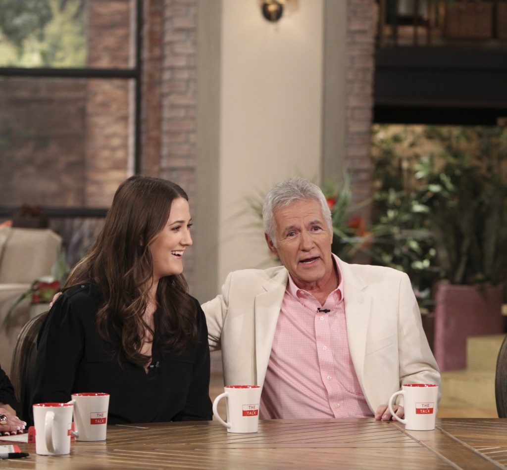 Alex Trebek and daughter Emily Trebek