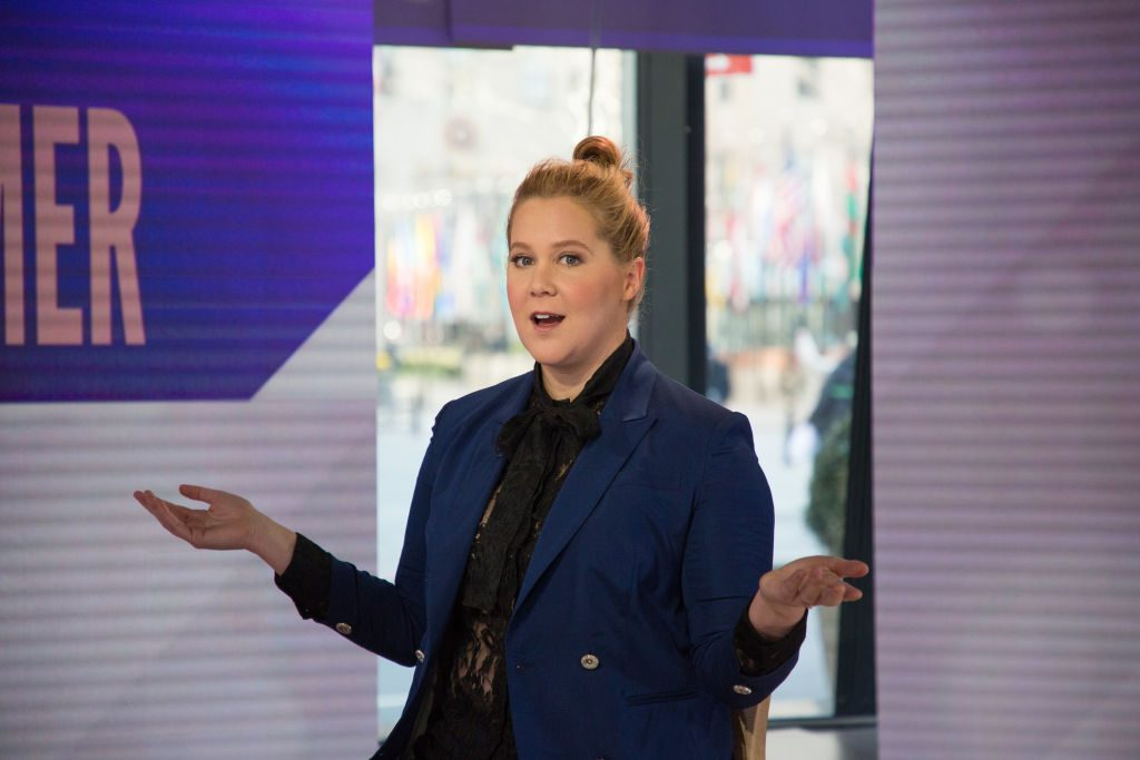 Amy Schumer | Nathan Congleton/NBC/NBCU Photo Bank via Getty Images