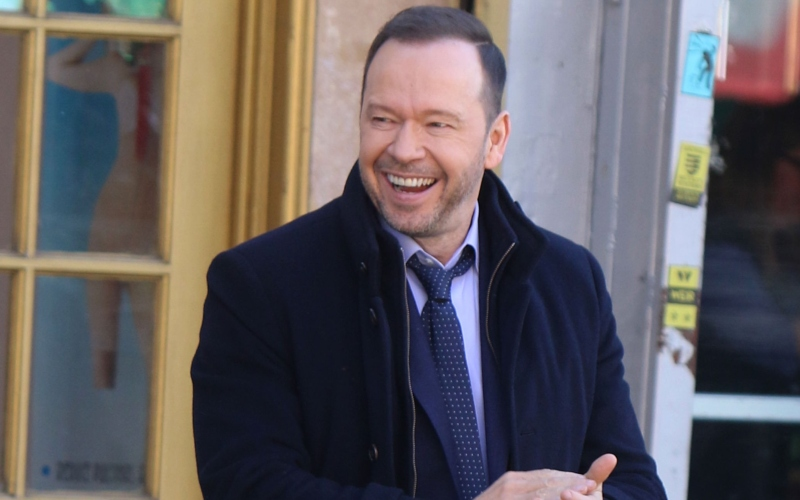 Donnie Wahlberg as Danny Reagan in Blue Bloods