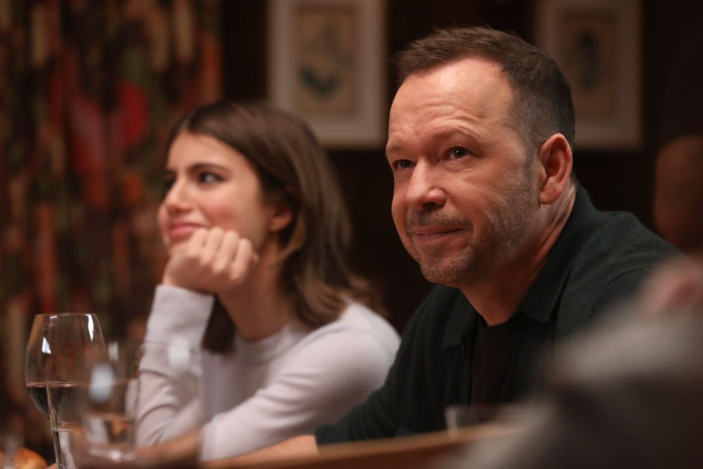 Sami Gayle and Donnie Wahlberg on 'Blue Bloods'