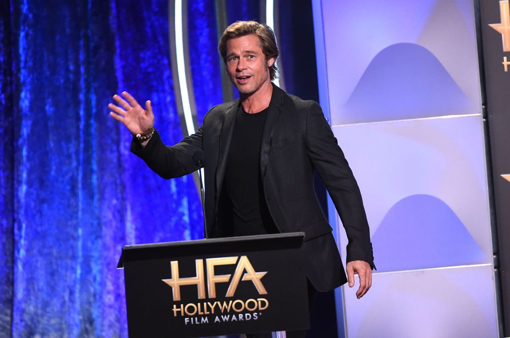 Brad Pitt at the Hollywood Film Awards. | Kevin Winter/Getty Images for HFA