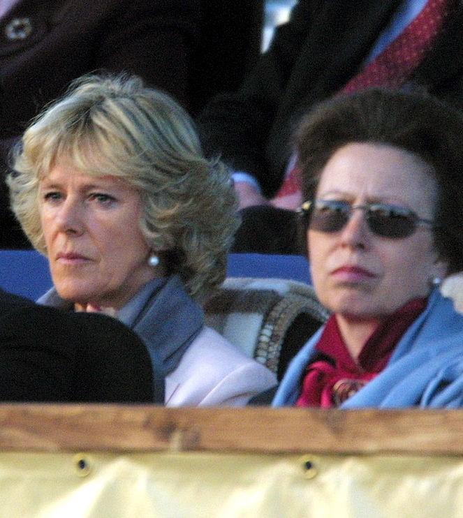 Princess Anne, the Princess Royal and Camilla Parker Bowles