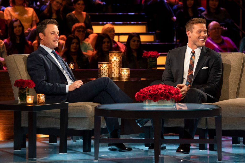 The Bachelor Colton Underwood and Chris Harrison | Eric McCandless via Getty Images