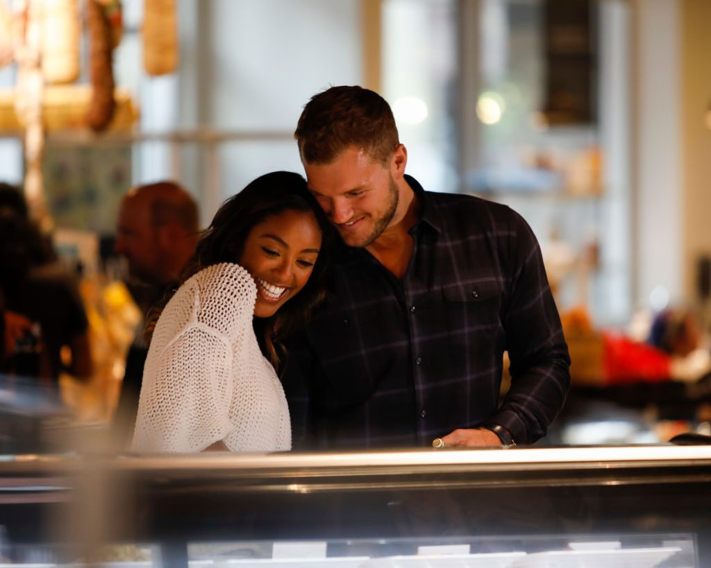 Tayshia Adams and Colton Underwood