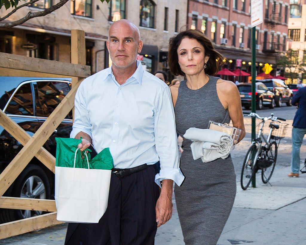 Dennis Shields and Bethenny Frankel