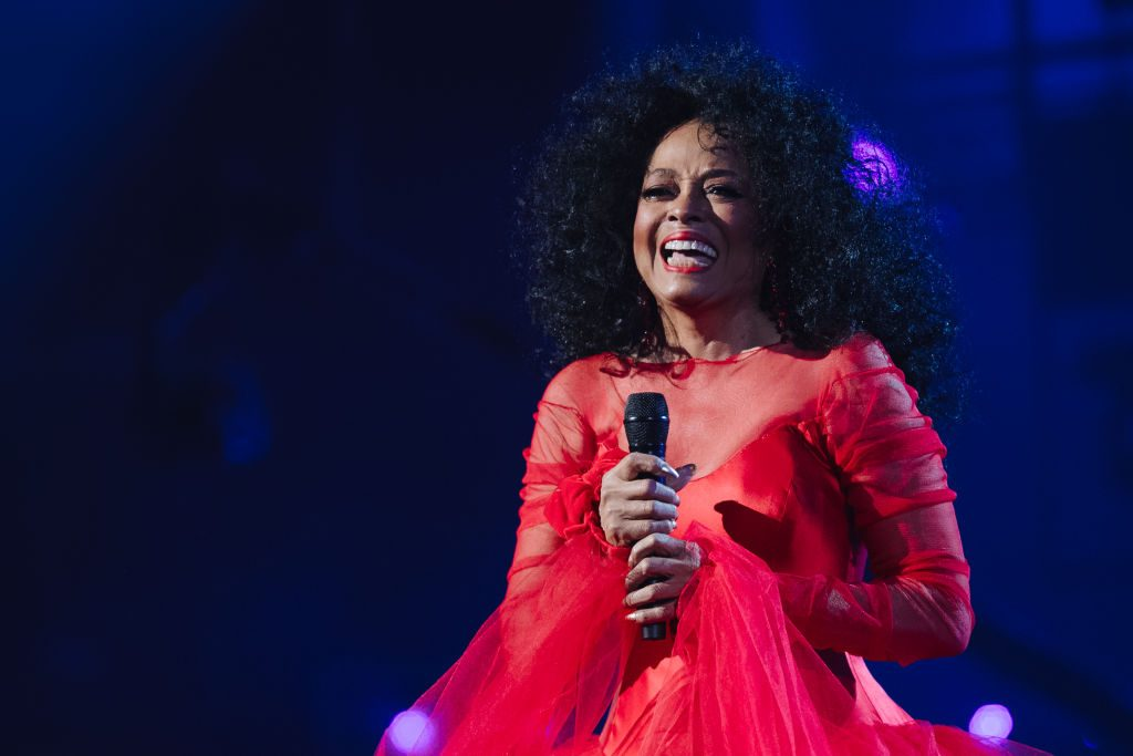 Diana Ross performs scenes at the 61st Annual GRAMMY Award | Photo by Emma McIntyre / Getty Images for the Recording Academy </figcaption> </figure> </div> <p>  The singer brings a special screening of her new movie, <em> Diana Ross: Her Life, Love <g class=