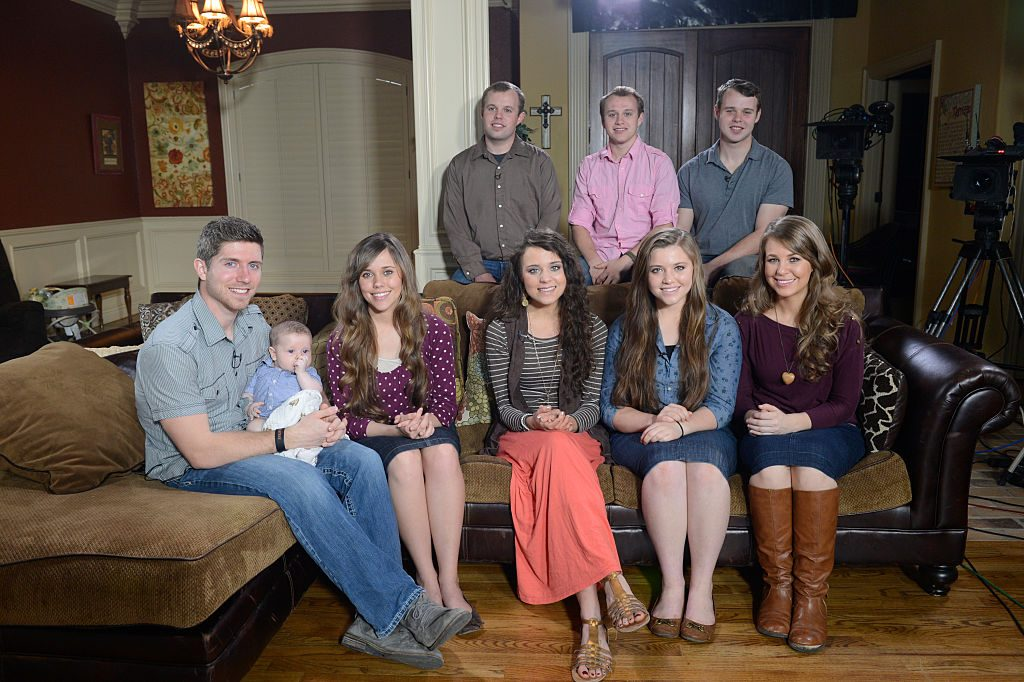 The Duggar family on Good Morning America | Ida Mae Astute/ABC via Getty Images