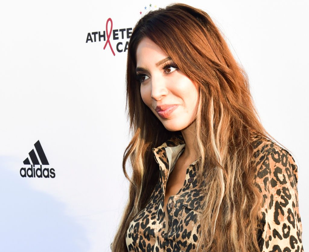 Farrah Abraham arrives at the Athletes vs Cancer Celebrity Flag Football Game at Fairfax High School | Rodin Eckenroth/Getty Images