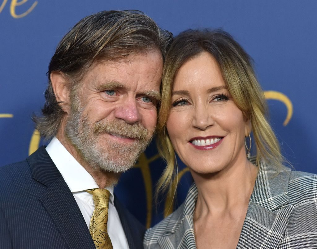 William H. Macy and Felicity Huffman |  Lisa O'Connor/AFP/Getty Images
