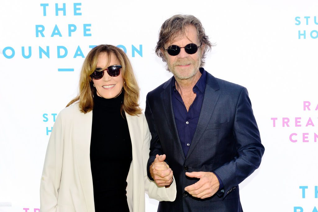 Felicity Huffman and William H. Macy |Jerod Harris/WireImage